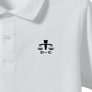 断絶のコートポロシャツ左胸ptups