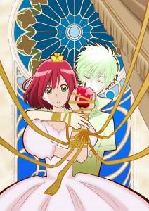 赤髪の白雪姫_キーヴィジュアル
